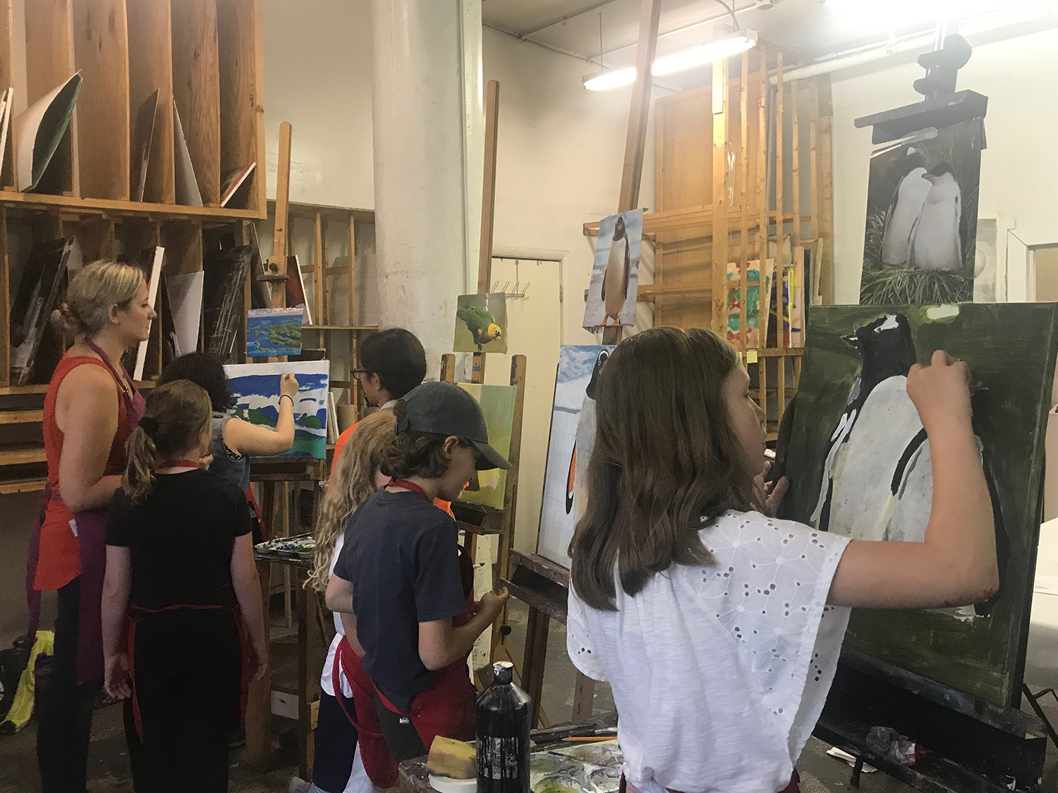 Acrylic Painting Summer Art Camp