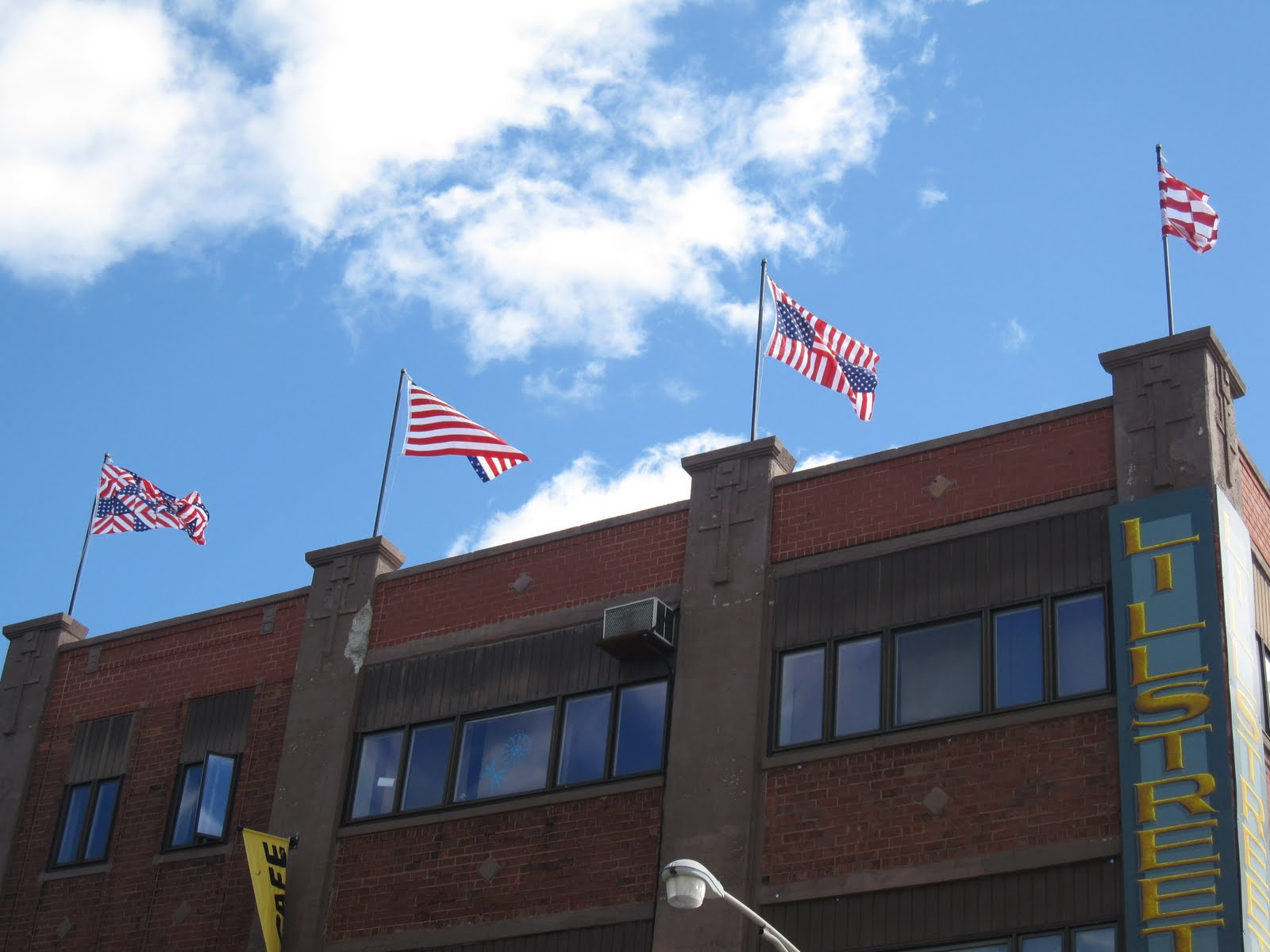 Rooftop Flags