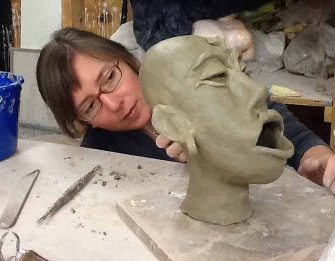 Myths, Stories in Clay Sculpture