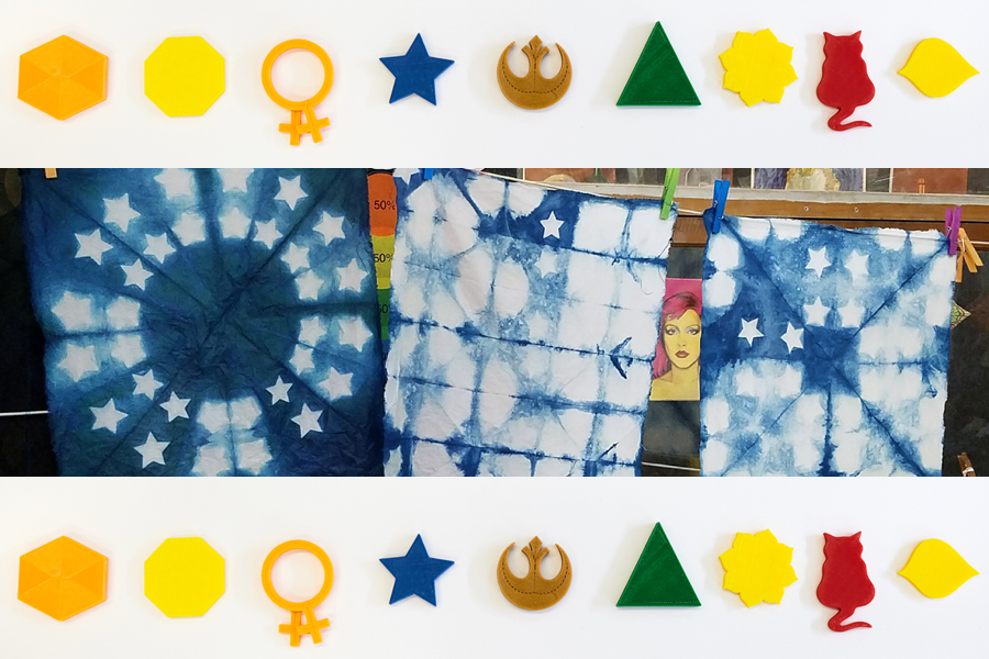 Design and Print Your Own Itagime Shibori Resist Tools for Textiles