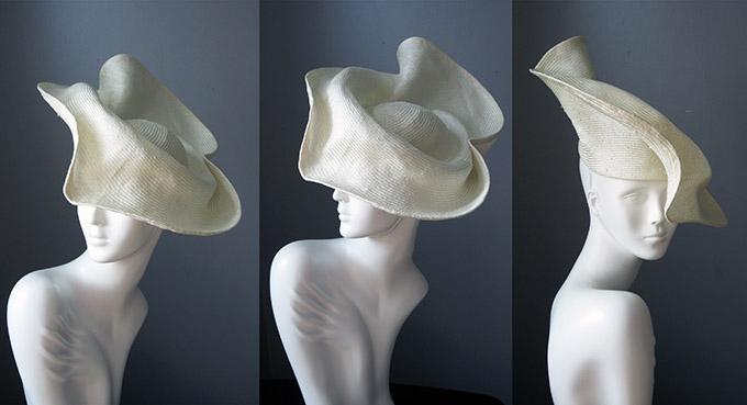 Hat Making: Sculptural Straw