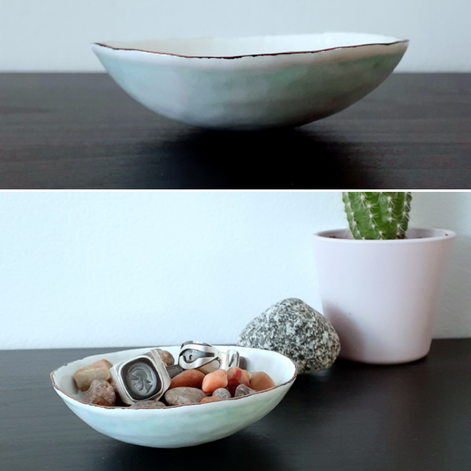 Petite Catch-All Enamel Dish Workshop