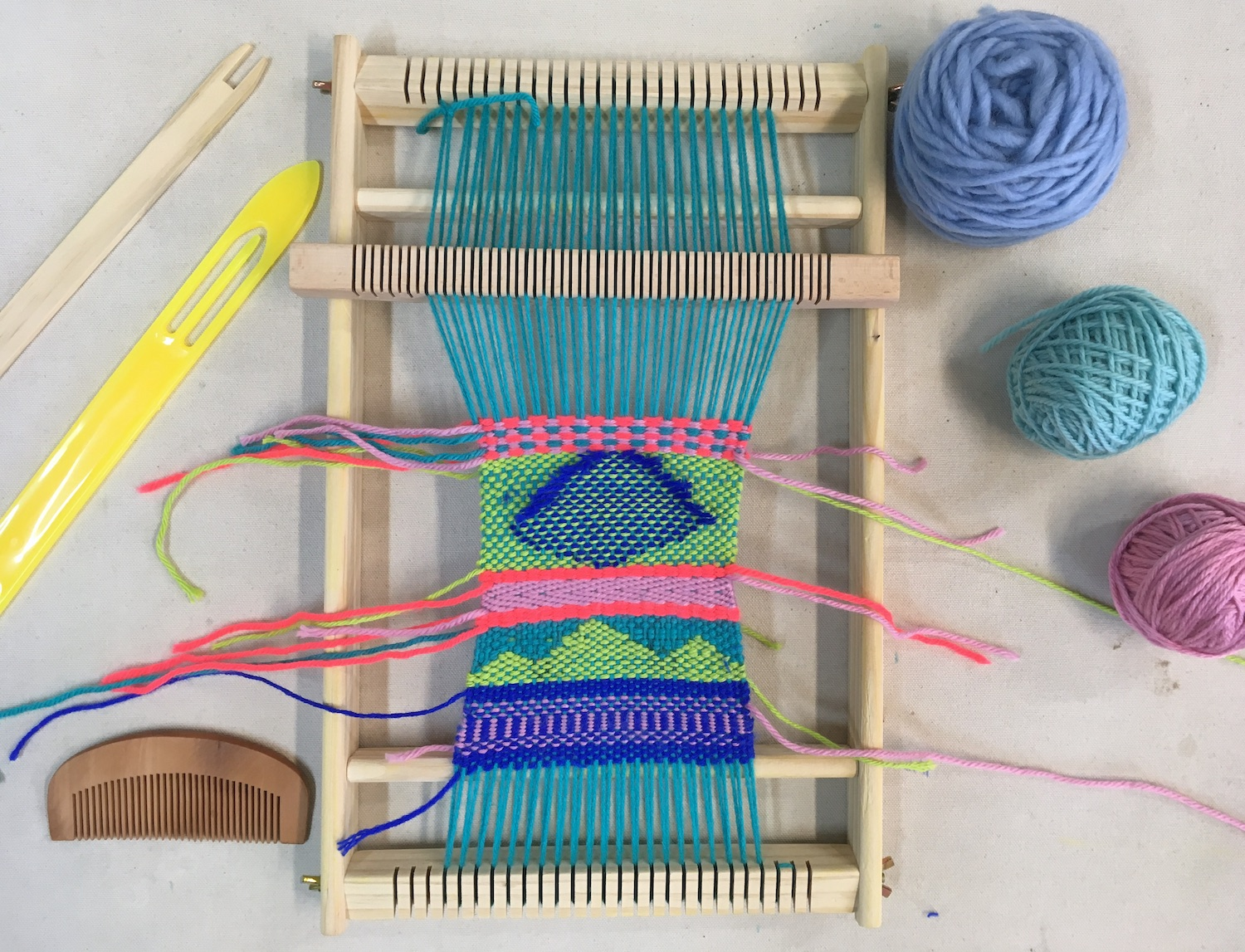ONLINE: Intermediate Weaving At Home