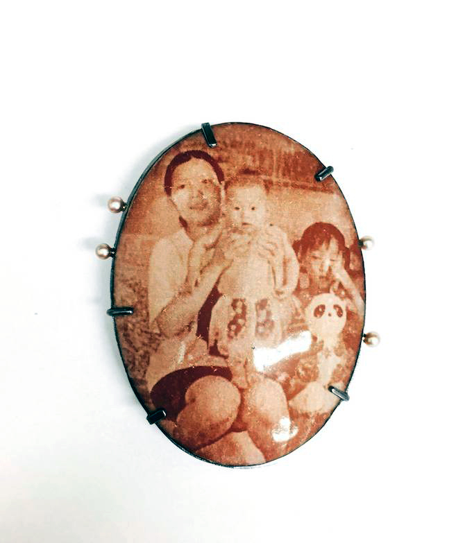 Photo Decal on Enamel