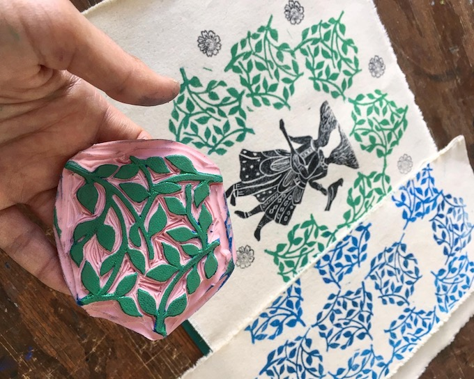 ONLINE: First-Time Stamp Printing on Fabric