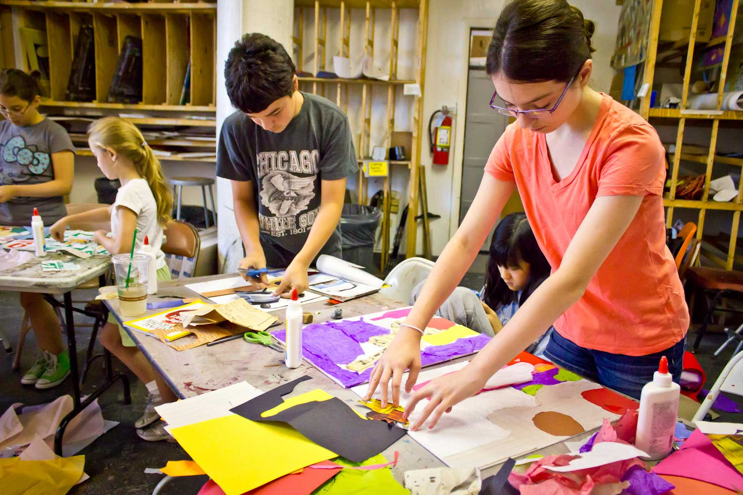 art classes and camps for kids in chicago lillstreet art