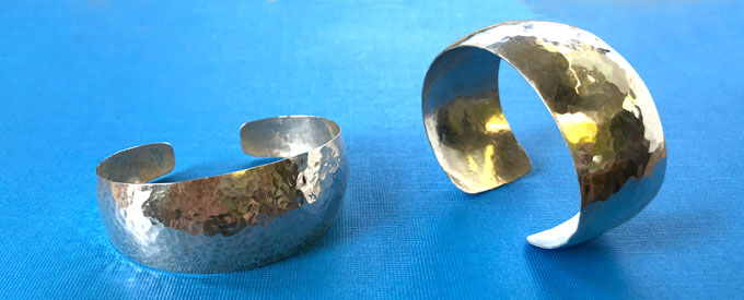 Fun Night Out: Synclastic Silver Cuff